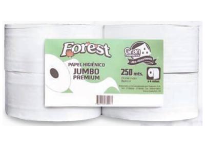 Papel Higiénico Jumbo Forest 250m