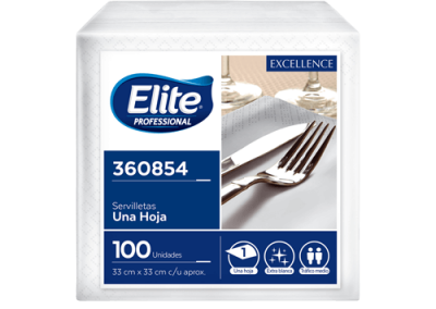 Servilletas Elite Pro Excellence 100 unidades
