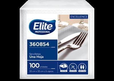 Servilletas Elite Pro Excellence 100 unidades