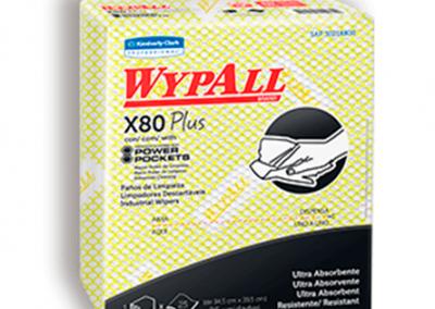 Wypall X-80 Limpión Amarillo