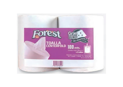 Toalla Forest Centerfold